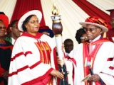 Installation of the second university Chancellor, Prof. Margaret Kobia